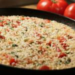 Rižoto s rajčicom i pečenom paprikom - Fini Recepti by Crochef