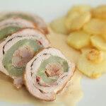 Svinjska rolada sa svježim krastavcem - Fini Recepti by Crochef