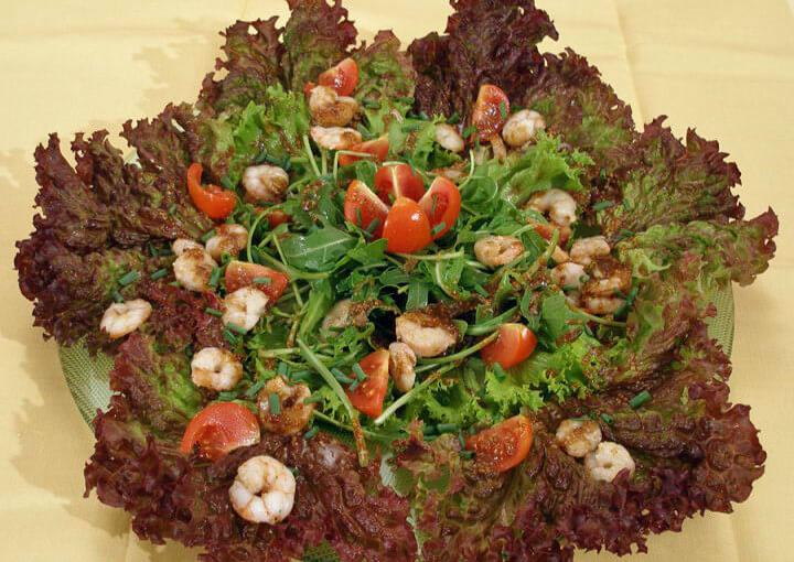 Salata od morskih kozica
