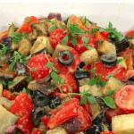 Salata od pečenog povrća