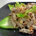 Hladna salata od piletine i tjestenine