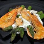 Salata od šparoga i morskih kozica