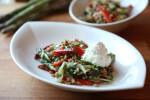Salata od pira, šparoga, paprika i svježeg kravljeg sira - Fini Recepti by Crochef