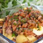 Salata od krumpira, tunjevine i jaja