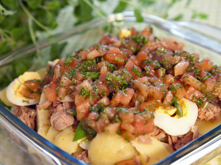 Salata od krumpira, tunjevine i jaja - Fini Recepti by Crochef