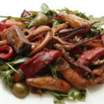Salata od liganja s povrćem