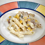 Salata s tunom i mladim kukuruzom