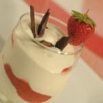 Šarena krema s jagodama - Fini Recepti by Crochef