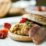 Sočni sendvič s kajganom