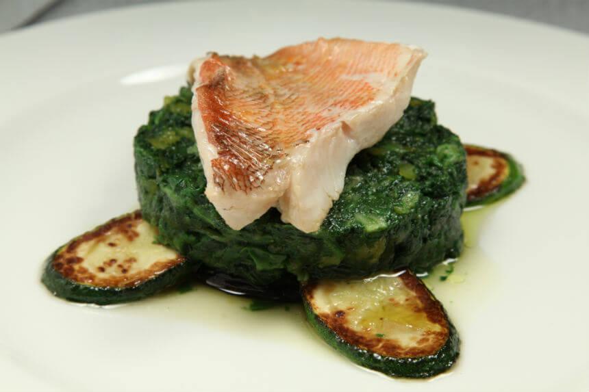 Filet škarpine na posteljici od povrća - Fini Recepti by Crochef