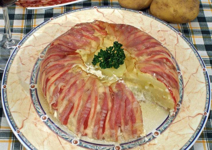 Slani kolač od sira i krumpira