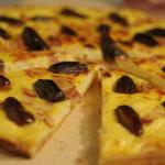 Slani kolač od sira s datuljama