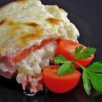 Slani puding od riže s mesnim sirom