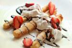 Slatke šparoge u pivskom tijestu s kremom od jagoda - Fini Recepti by Crochef