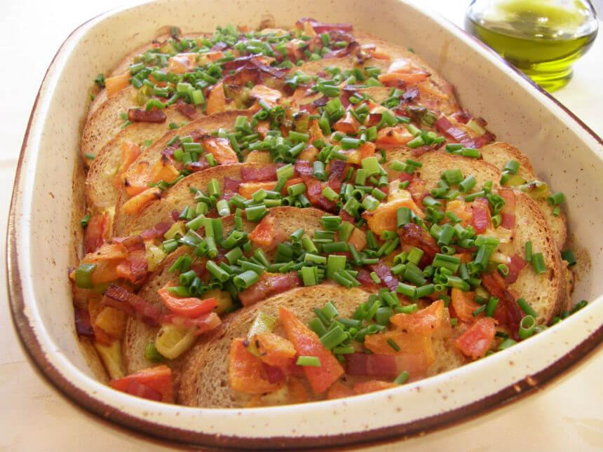 Složenac od starog kruha - Fini Recepti