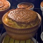 Souffle s gorgonzolom
