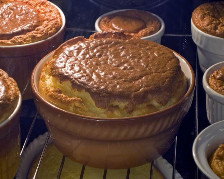 Souffle s gorgonzolom - Fini Recepti