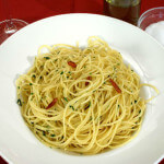 Spaghettini aglio, olio e peperoncino