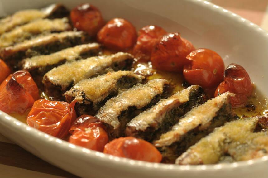 Srdele na sicilijanski način - Fini Recepti by Crochef