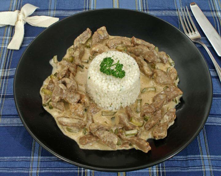 Biftek Stroganoff - Fini Recepti