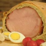 Šunka u kruhu s maslinama