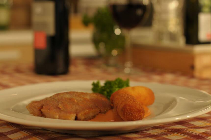 Svinjski kare u umaku od crnog vina - Fini Recepti