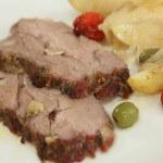 Svinjski vrat s povrćem iz pećnice