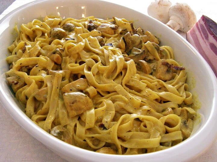 Tagliatelle s gljivama - Fini Recepti