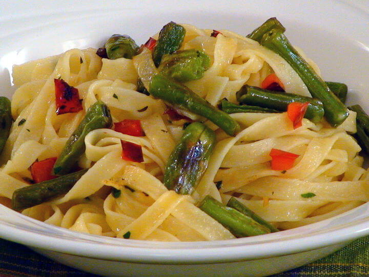 Tagliatelle s mahunama - Fini Recepti