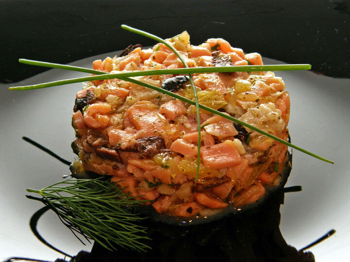 Tartar od ribe s narančom i maslinama - Fini Recepti