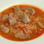 Teleća juha s bulgurom