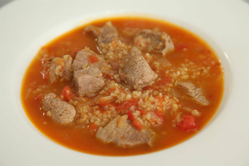 Teleća juha s bulgurom - Fini Recepti by Crochef
