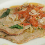 Teleći odresci s rajčicama i parmezanom - Fini Recepti by Crochef