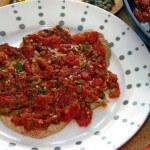 Teleći odresci u umaku od rajčice