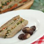 Terina od kestena i gljiva, s porilukom i pečenim paprikama - Fini Recepti by Crochef