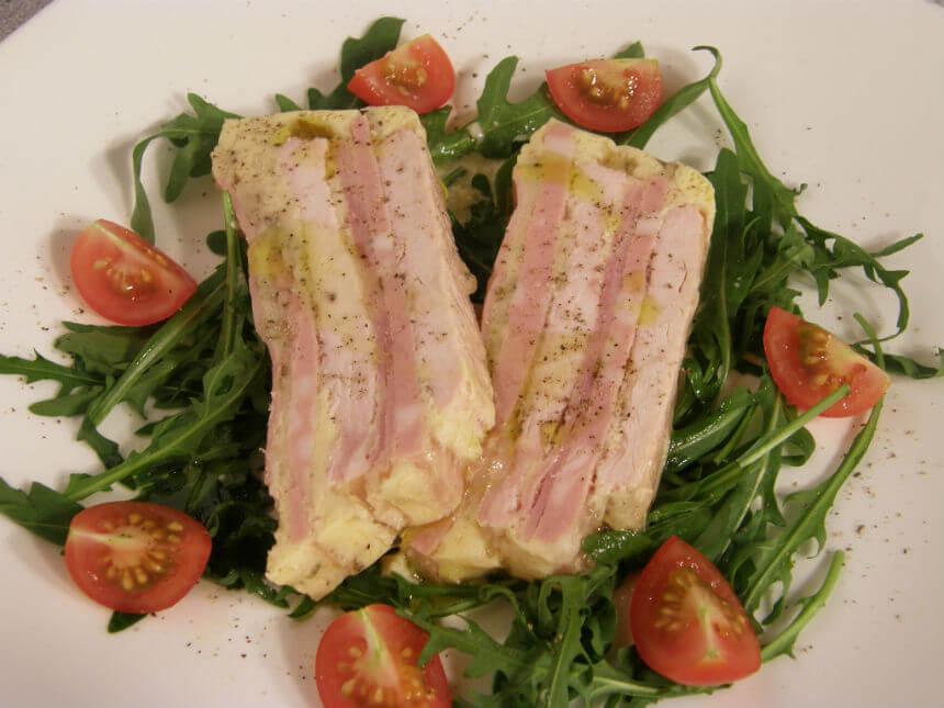 Terina od puretine, šunke i mortadele - Fini Recepti by Crochef