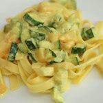 Široki rezanci s dinjom i tikvicama - Fini Recepti by Crochef
