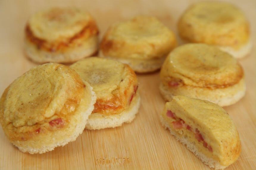 Topli sendviči sa sirom i slaninom - Fini Recepti by Crochef