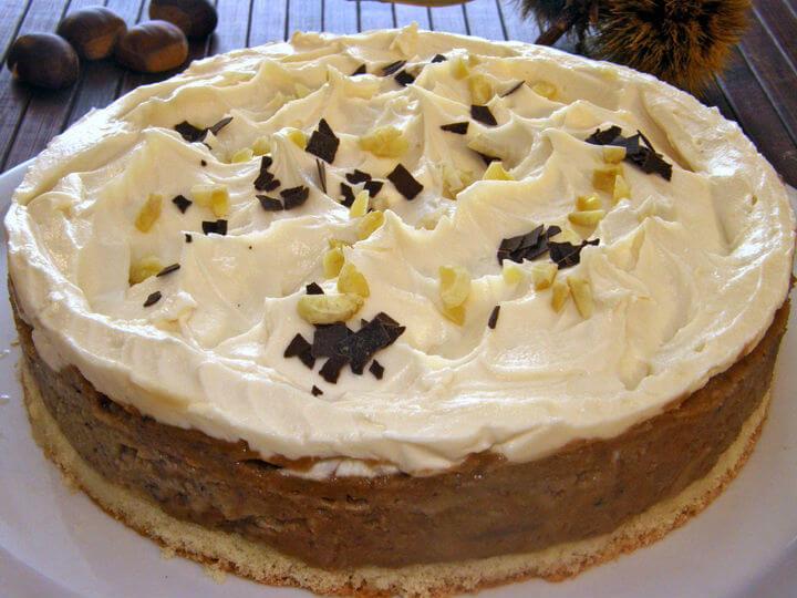 Krem torta od kestena i mušmula - Fini Recepti