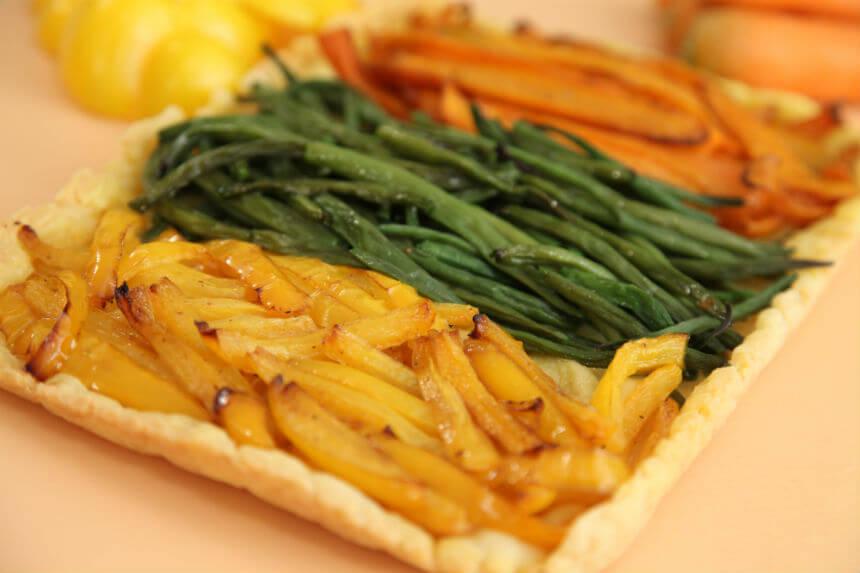 Povrtna torta s lisnatim tijestom - Fini Recepti by Crochef