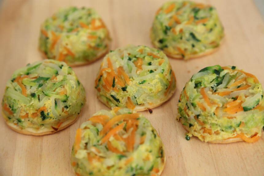 Sočne povrtne tortice - Fini Recepti by Crochef