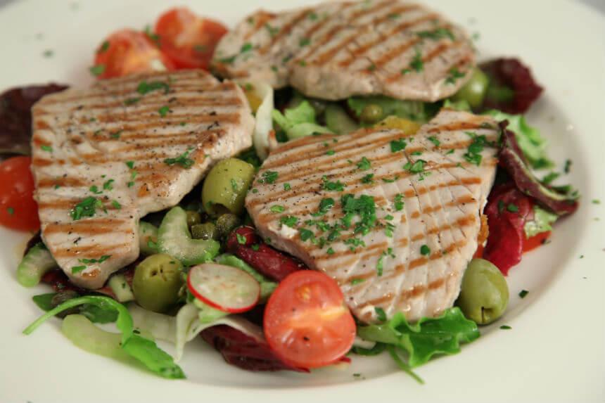 Odresci tune na salati s narančom - Fini Recepti by Crochef