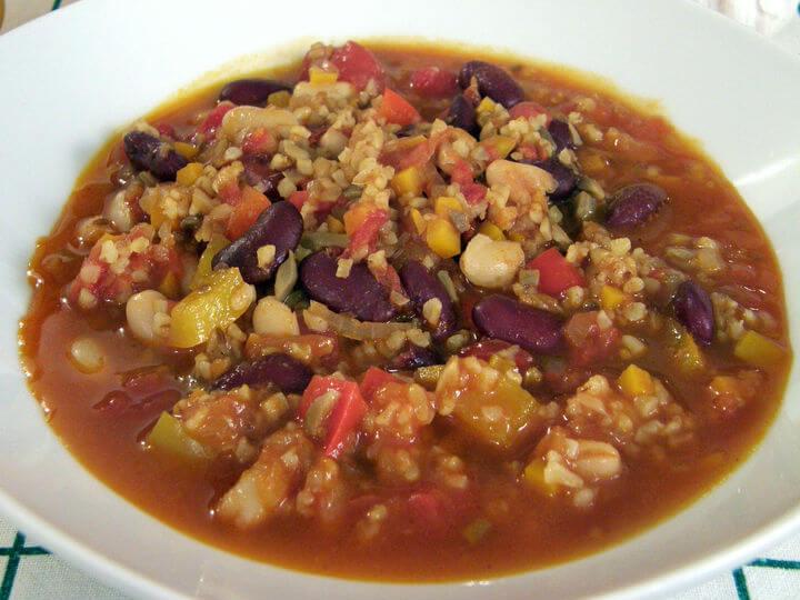 Vegetarijanski čili - Fini Recepti