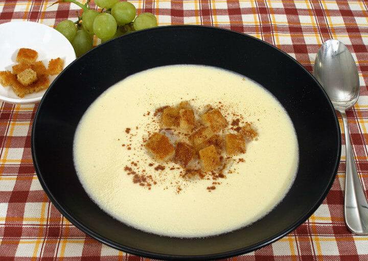 Vinska krem juha