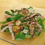 Vrganji na salati od matovilca