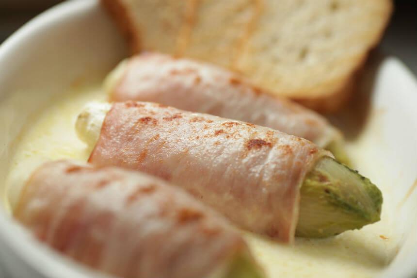 Zapečena cikorija sa šunkom - Fini Recepti by Crochef