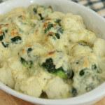 Gratinirana cvjetača i brokula - Fini Recepti by Crochef