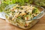 Gratinirana tjestenina s tunjevinom i povrćem