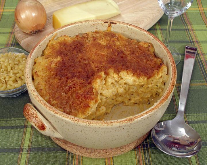 Zapečena tjestenina sa sirom - Fini Recepti