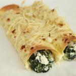 Zapečene tortilje nadjevene špinatom i svježim kravljim sirom - Fini Recepti by Crochef